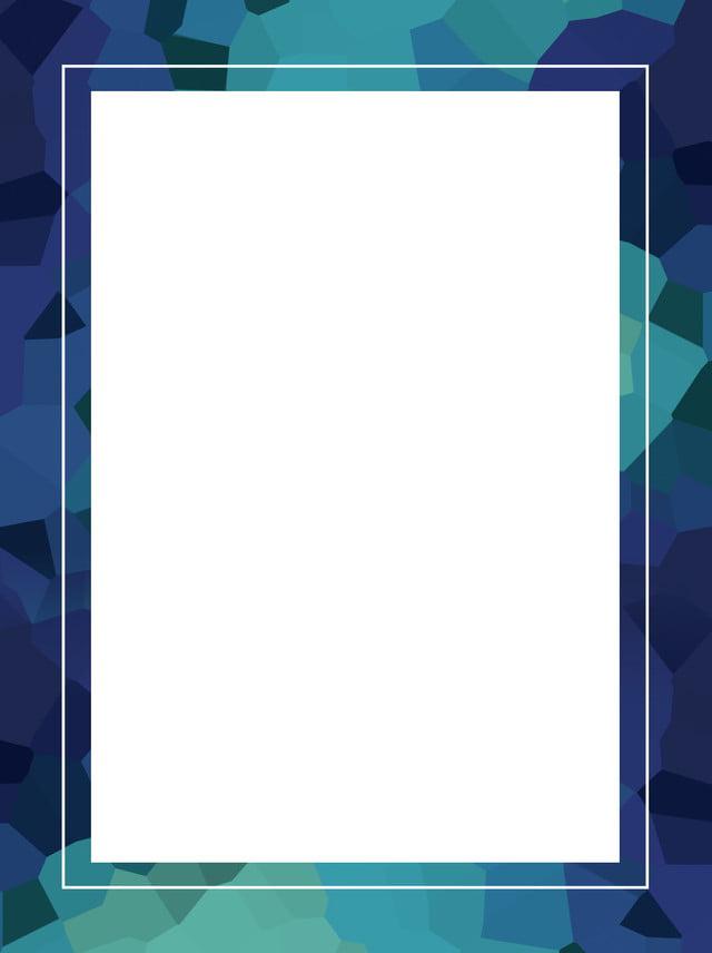 Gradient Blue Crystal Lattice Simple Background Material