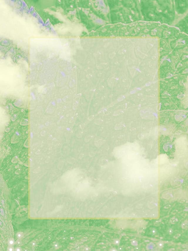 green leaf tiled literary aesthetic minimalist background