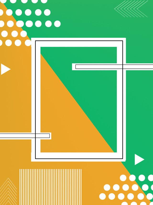 Illustration De Fond Dégradé Polygone Vent Memphis Dégradé Vert