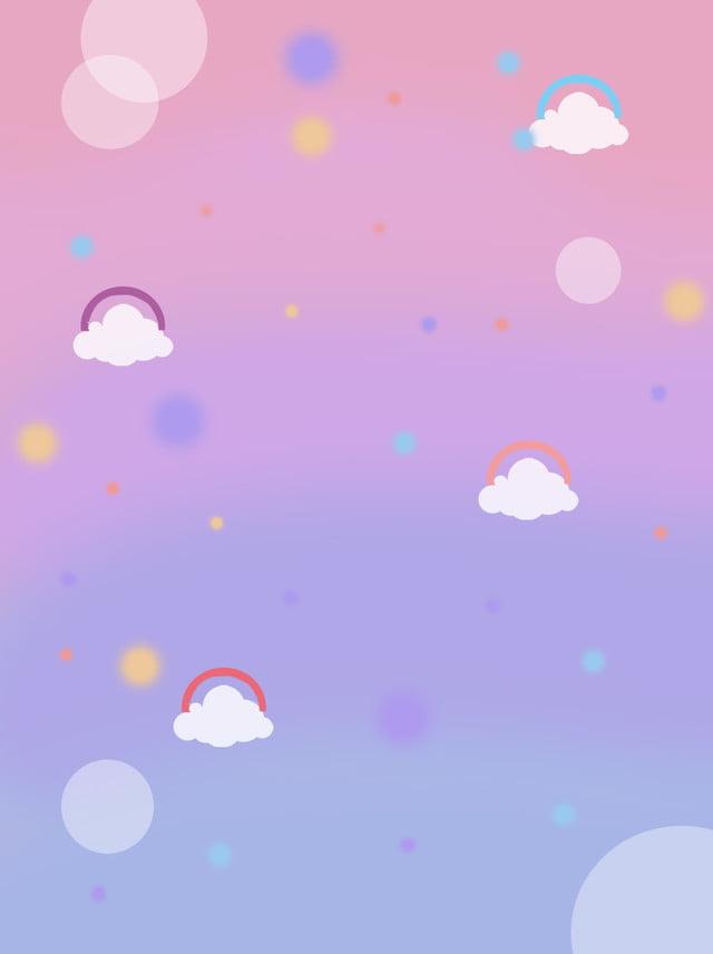 رومانسية الوردي الأرجواني سحابة قوس قزح الخلفية الناعمة خلفيات ناعمة زهري أرجواني صورة الخلفية للتحميل مجانا