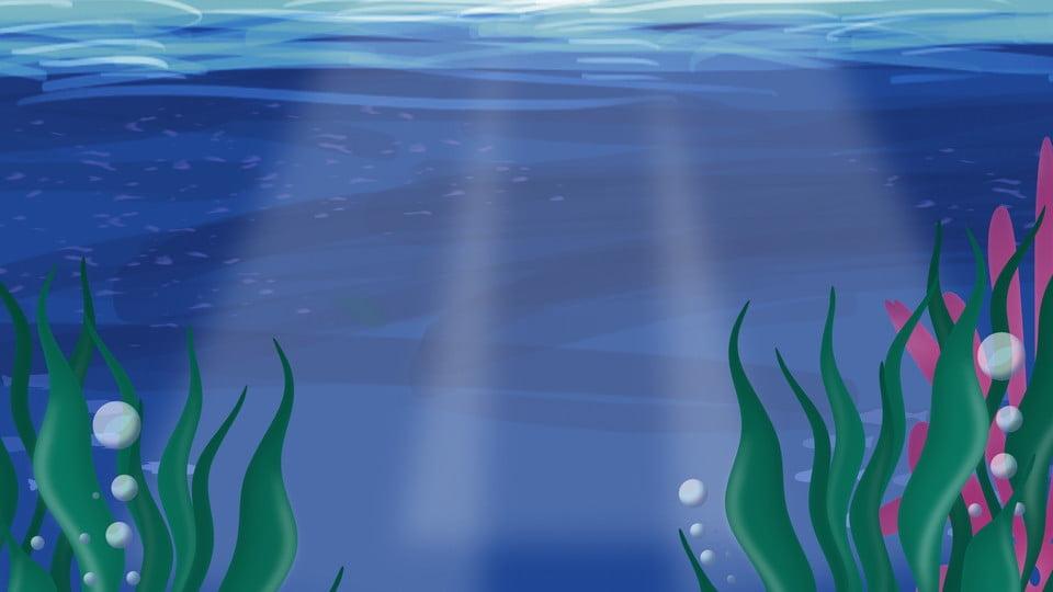gambar bahan latar rumput laut di bawah cahaya matahari lautan rumput laut laut latar belakang untuk muat turun percuma https ms pngtree com freebackground seaweed background material under the sun 916719 html