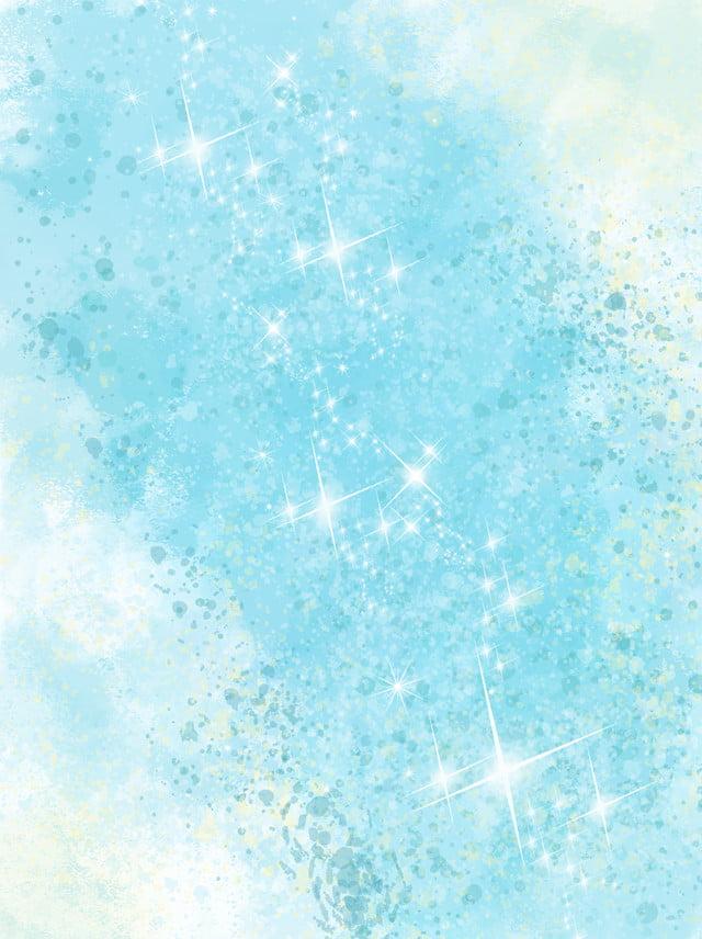 Fondo Del Fiume Di Lustro Degli Azzurri Blu Sfondo Luce Intensa