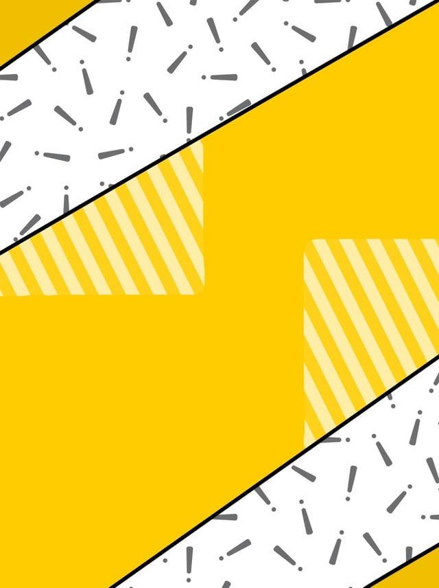 Archivio di origine del fondo a strisce giallo elegante di Memphis dei  quadrati giallo striscia Punto 48af02d57d7b