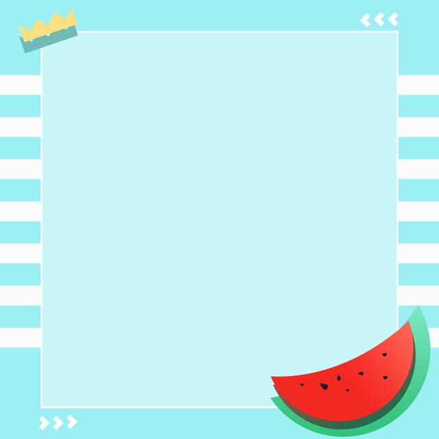 خلفية هندسية بسيطة البطيخ الصيف بطيخ فاكهة الصيف صورة الخلفية