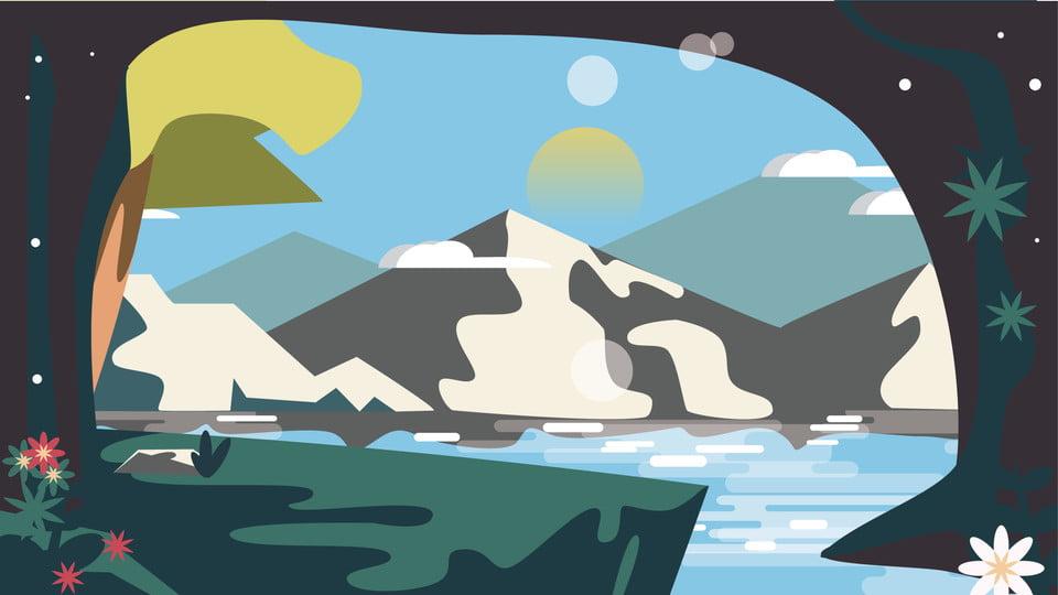 Travel Climbing Mountain Trekking Landscape Light Shadow