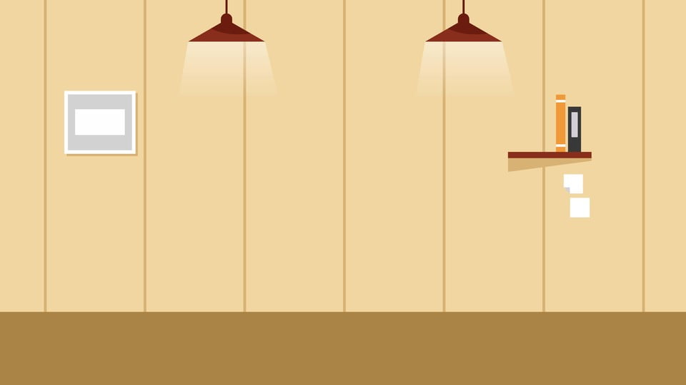 Warm Home Wall Background Design Warm Cartoon Hand Painted Background Image For Free Download