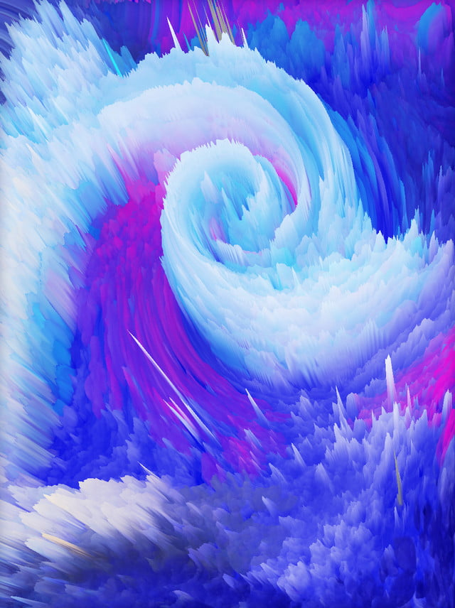 3d cold tones swirl background  advertising background  3d