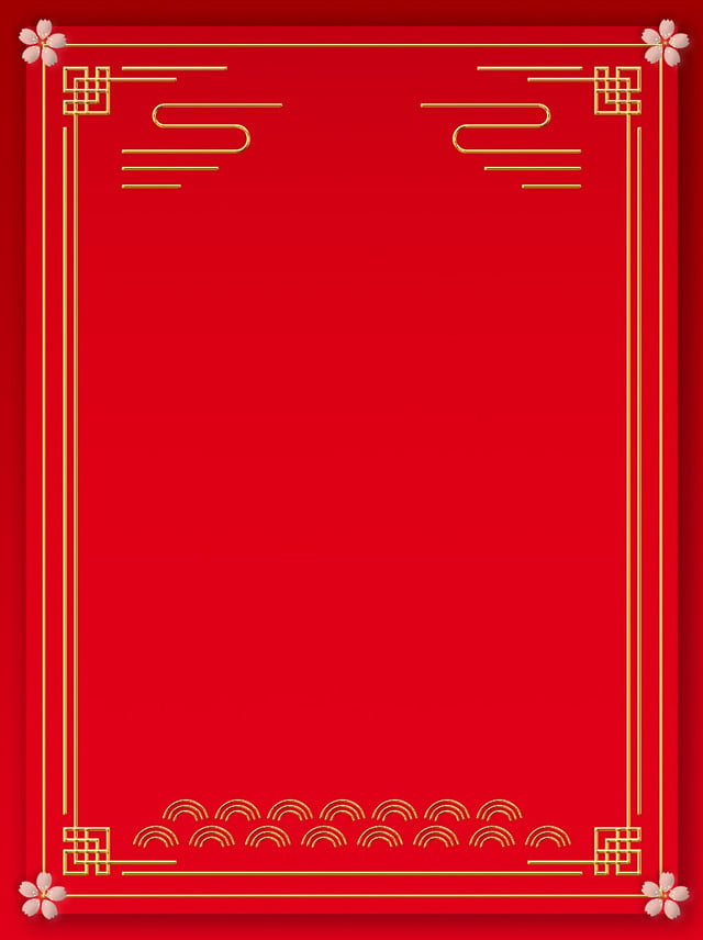 Tutto Il Materiale Di Sfondo Festival Festivo Rosso Stile Cinese