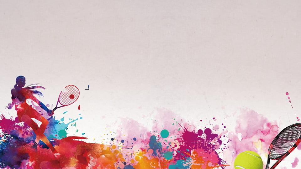 Asian Games Splash Ink Color Passion Exhibition Board