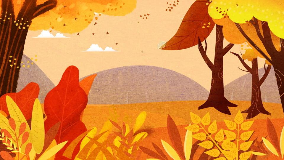 foto de Beau Fond Bois Automne Montagnes Illustration, Beau, Fond Dautomne ...