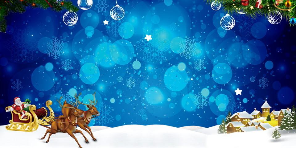Beautiful Christmas Background Design.Beautiful Blue Christmas Background Design Carriage Blue