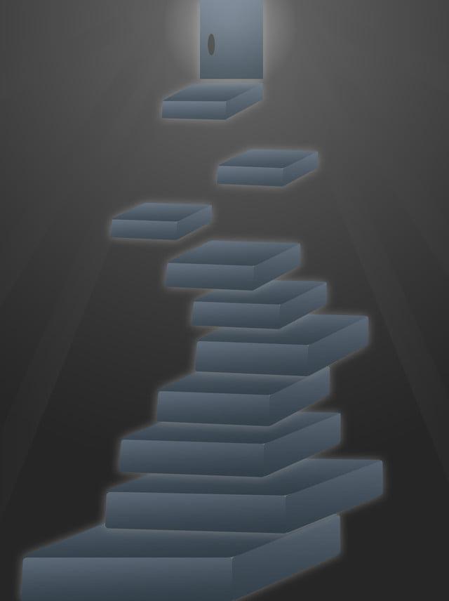 Nero E Blu Sfumato Spazio Colore Solido 3d Materiale Di Fondo Scala