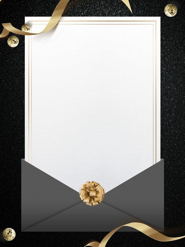 black atmosphere invitation background design  letter