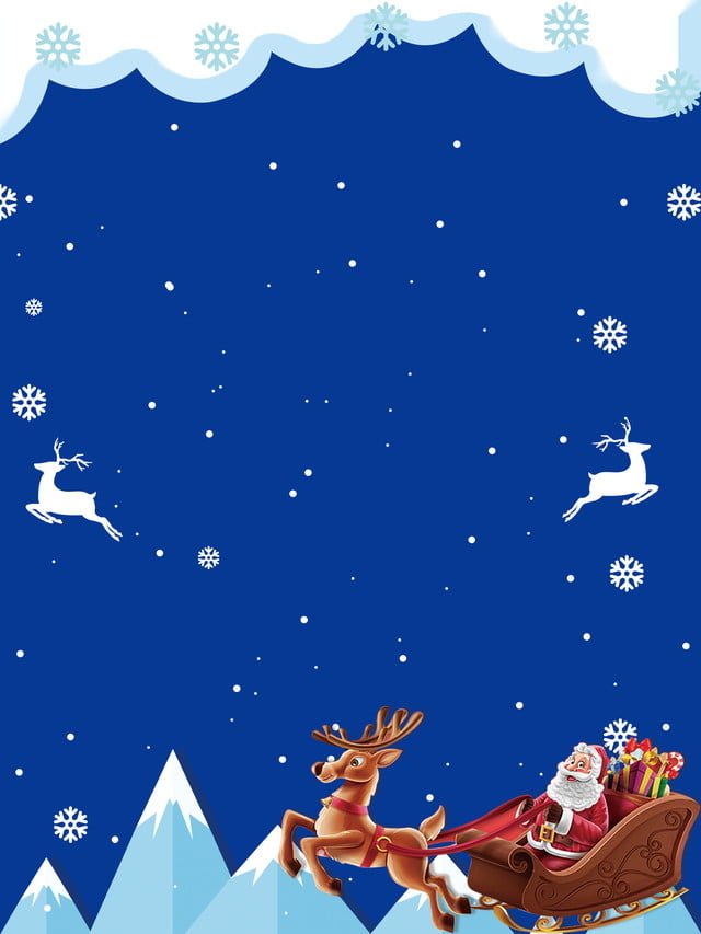 blue christmas cartoon background blue cartoon fresh background background image for free download https pngtree com freebackground blue christmas cartoon background 971412 html
