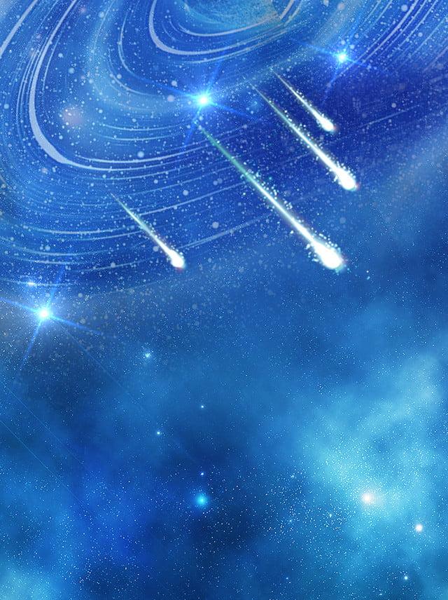 Blu Design Creativo Sfondo Stellato Cielo Stellato Blu Sfondo Blu