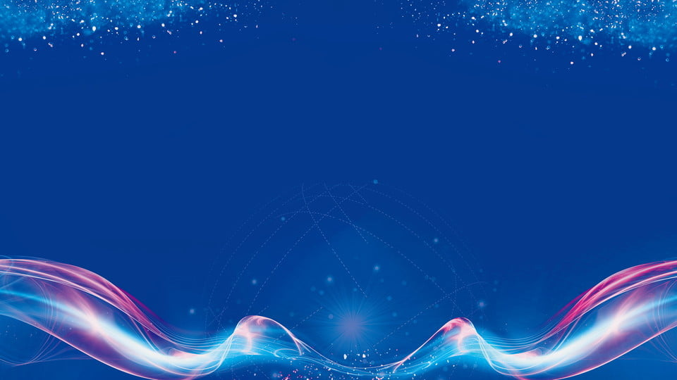 Blue Minimalist 2019 Party Background Design, Blue ...