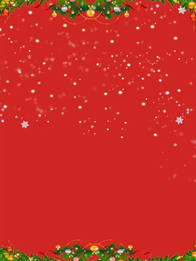 C4d Warm Western Christmas Background Material, Warm