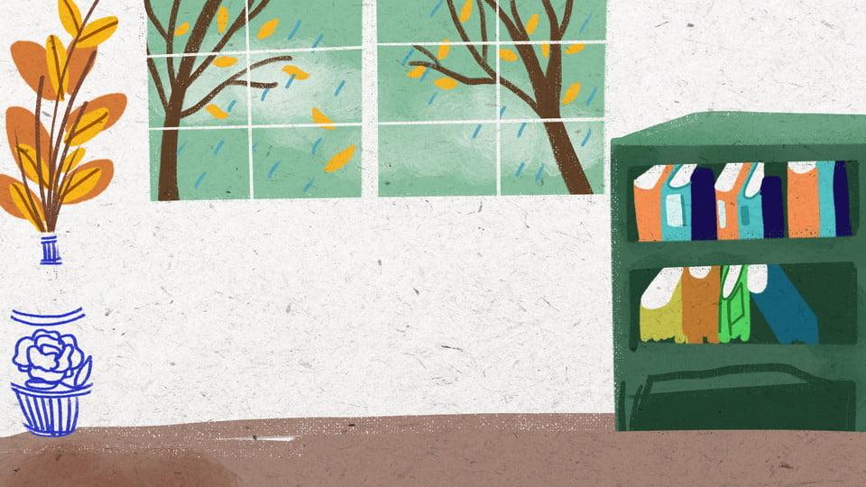 Design De Fond Dessin Anime Mur Interieur Confortable Dessin Anime Chaud Fond Interieur Image De Fond Pour Le Telechargement Gratuit