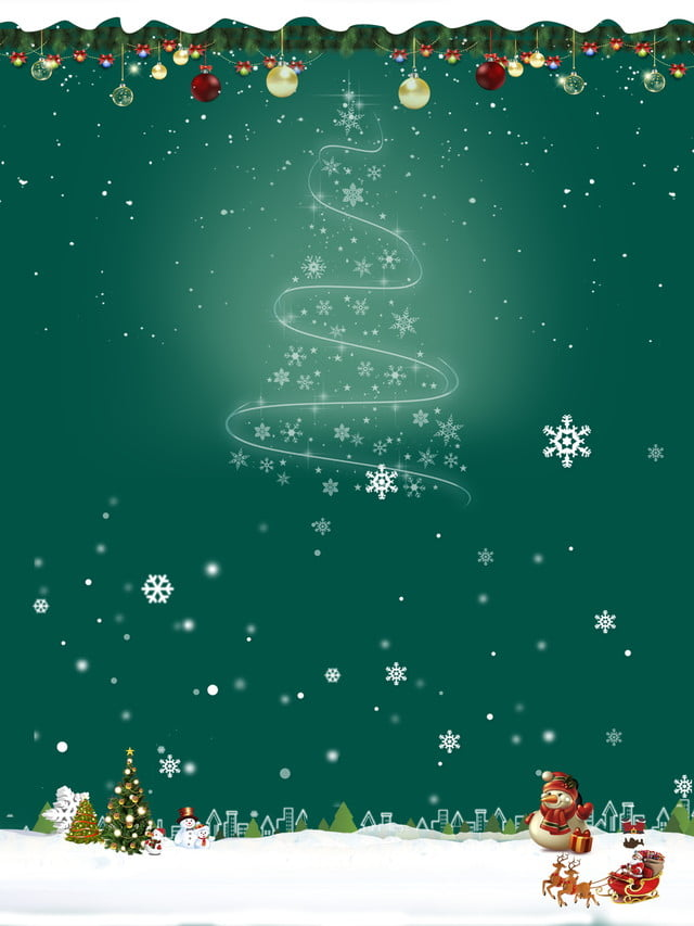 Christmas Background Christian.Christmas Christian Background Material In Snow Snowman