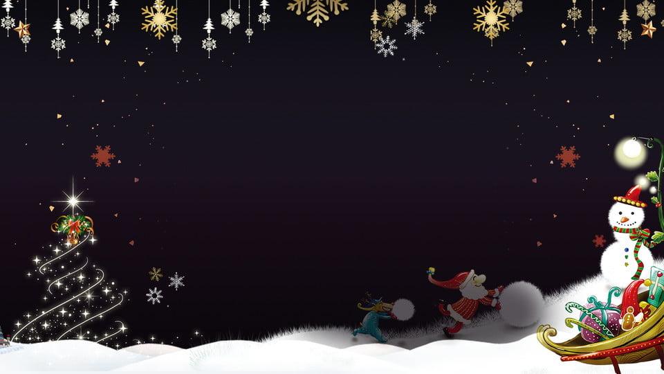 Christmas Board Design.Christmas Show Board Background Cartoon Hand Drawn Design