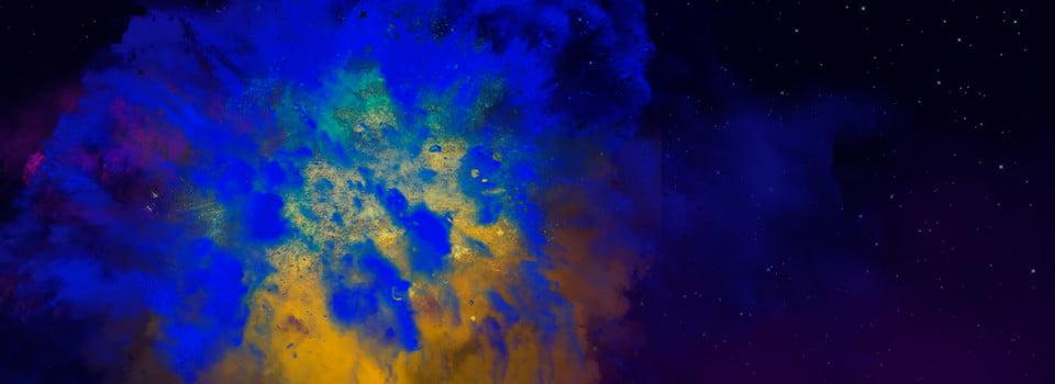 Sfondo Di Epidemie Nebulosa Cosmica Cielo Stellato Esplosione