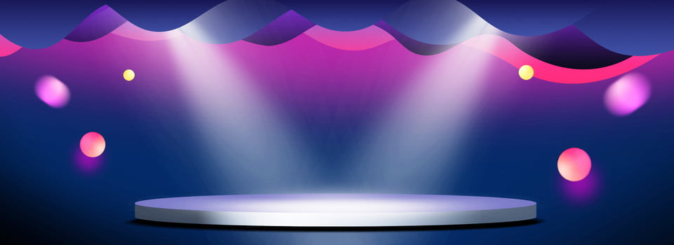 Creative Grant Stage Lighting Background