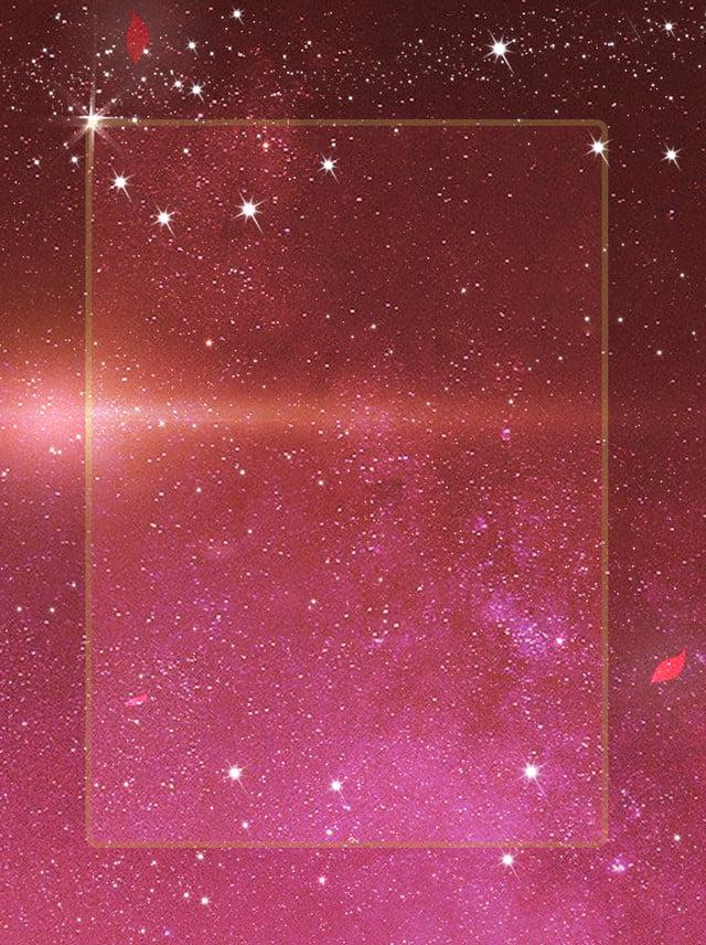 Dark Red Star Series Simple And Beautiful Star River Dream