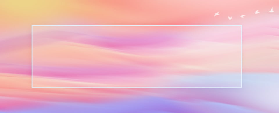Full Aesthetic Gradient Style Banner Background Creative