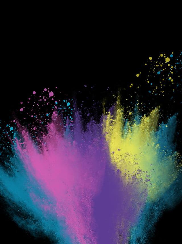 full color paint splash background  colorful background