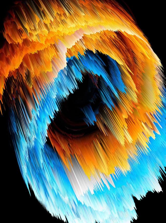 Full Contrast Vortex Abstract 3d Background Contrast Color