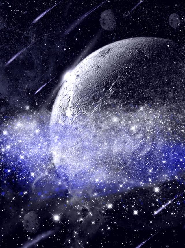 Full Hand Drawn Starry Night Sky Background, Night, Star, Starry Sky