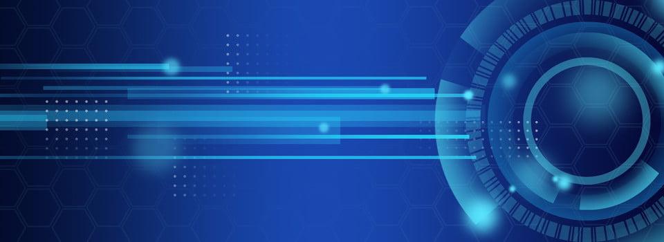 Full Tech Sfondo Azzurro Scienza E Tecnologia Sfondo Blu Immagine Di