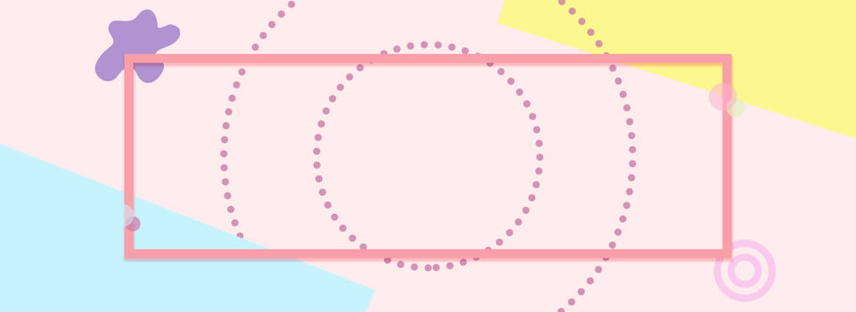Geometric Border Light Background, Irregular Shape, Circle