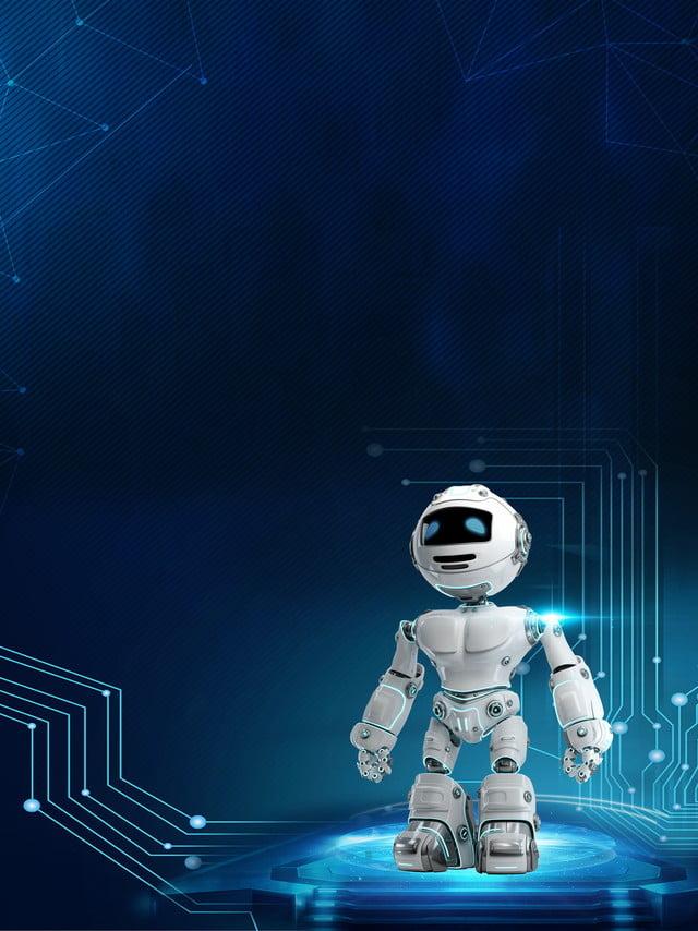 fond de technologie robot intelligent age fond de donn u00e9es