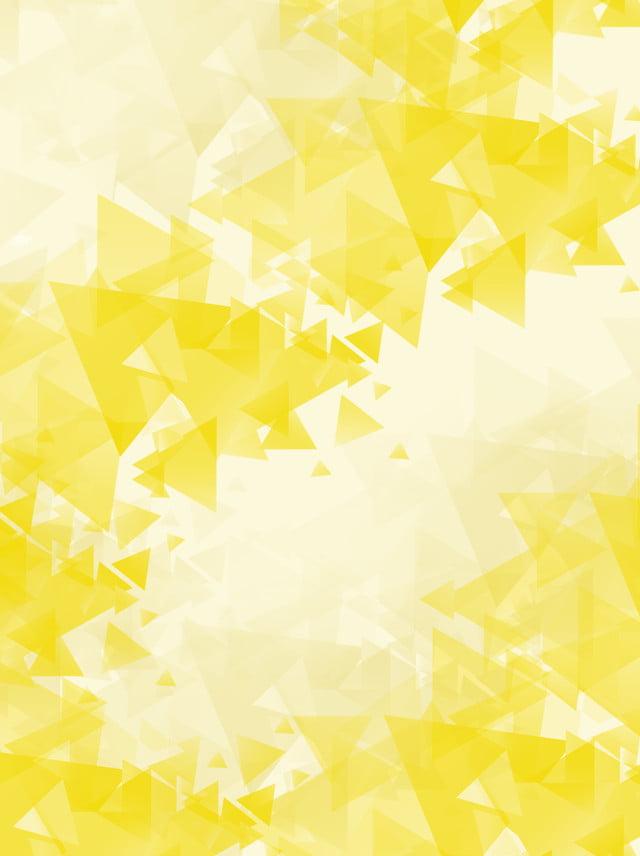 Xu Hướng Màu Vàng Nhạt đơn Giản Nền đa Giác Thấp Gradient