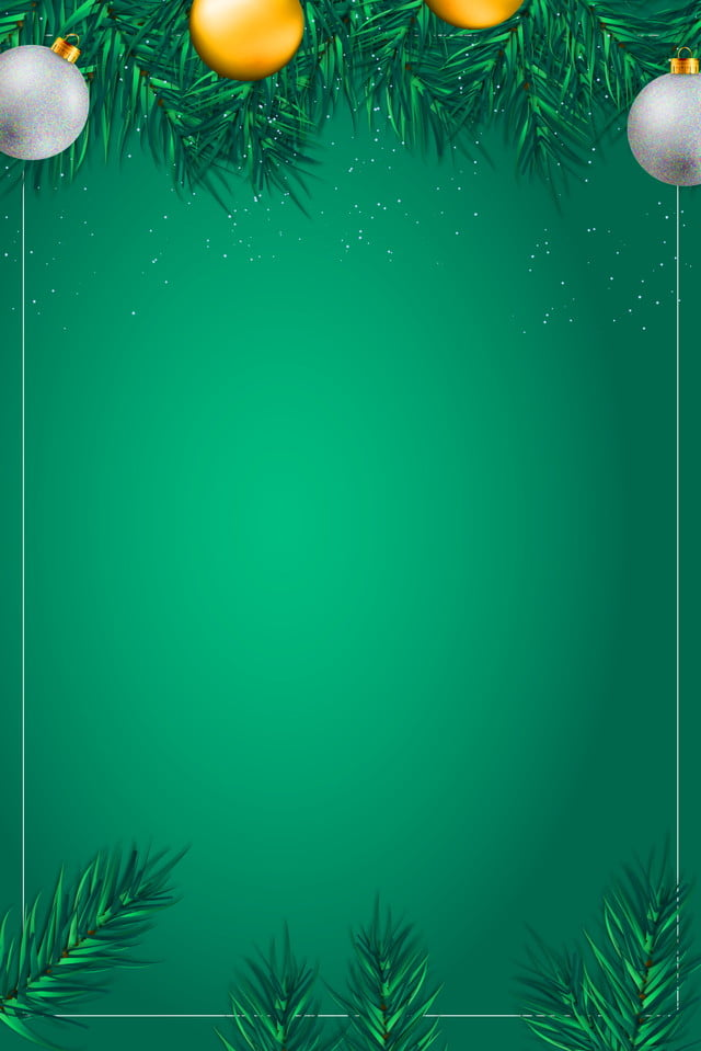 pngtree minimalistic christmas party green background partygreenbellgreen backgroundchristmas backgroundchristmas image 78741