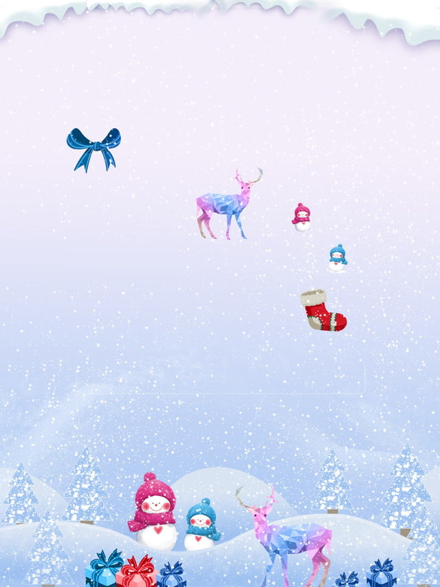 White Christmas Snow Background.Minimalistic White Christmas Snow Background Material