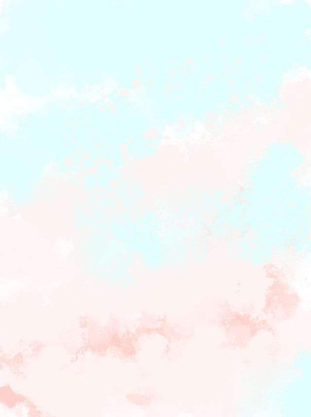 Pink Sleek Minimalistic Dreamy Watercolor Background, Pink ...