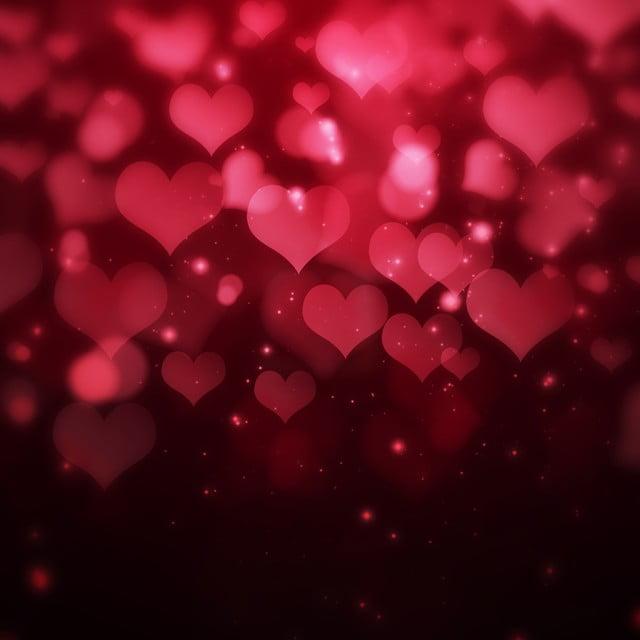 Priorità Bassa Di Gradiente Cuore Fantasia San Valentino Puro