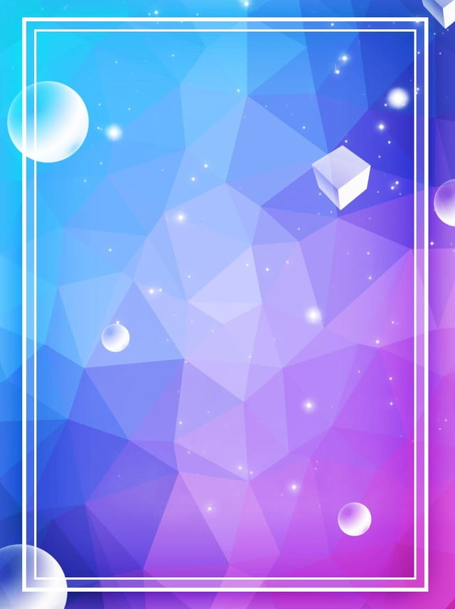 Pure Geometric Polygon Gradient Fashion Background