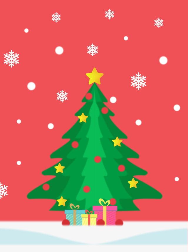 Dibujos De Arboles De Navidad Pintados.Material De Fondo Cartel Copo Nieve Arbol Navidad Pintado A