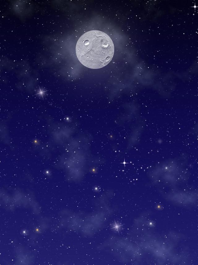 Cielo Stellato Sfondo.Luna Di Sfondo Cielo Stellato Puro Cielo Stellato Cielo
