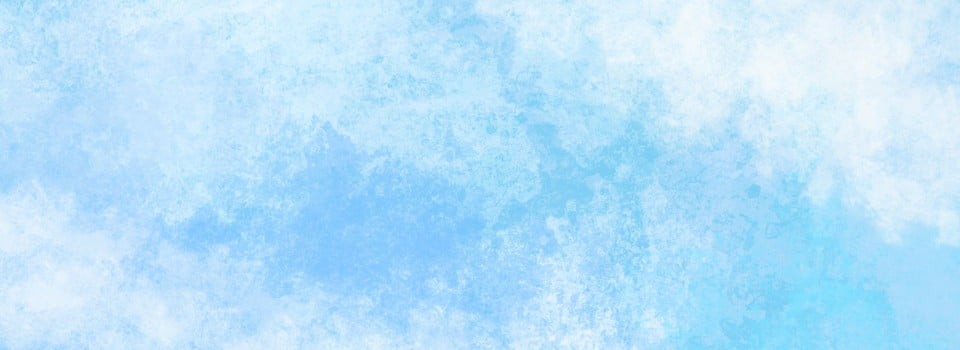 Aquarelle Fond Bleu Ciel Minimaliste Bleu Ciel Frais Image De Fond