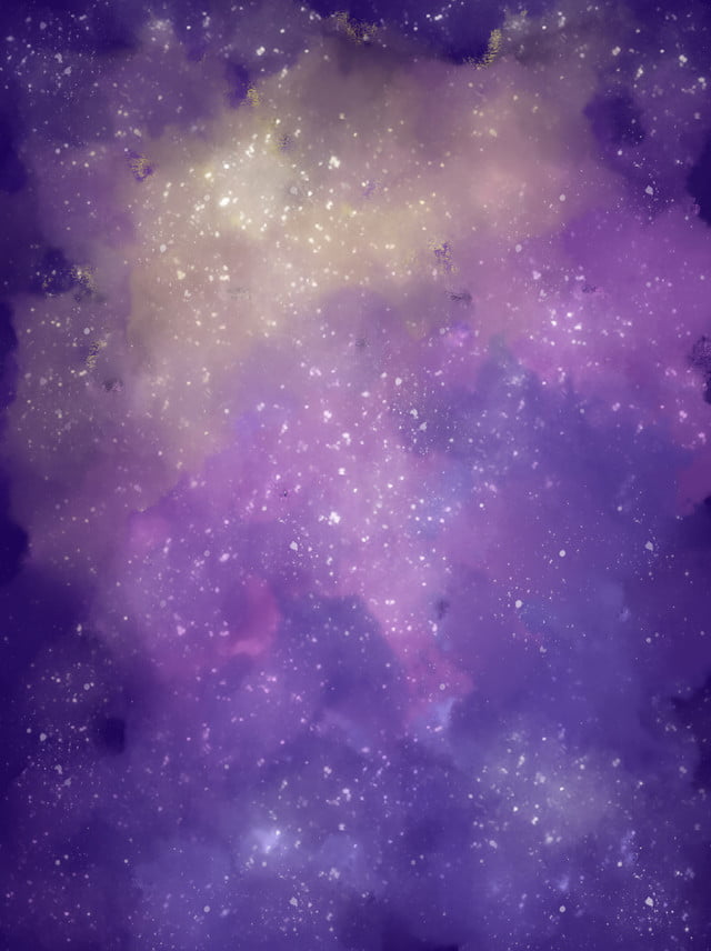Purple Burning Star Zrxc Cielo Stellato Nuvola Colorata Sognare