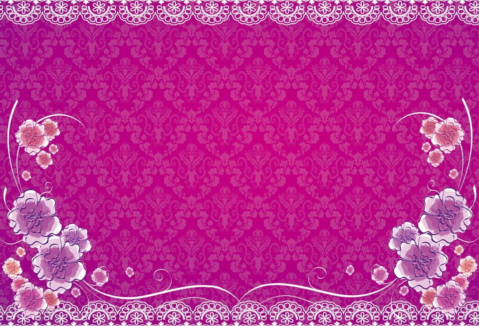 Purple Fashion European Shading Wedding Background Purple