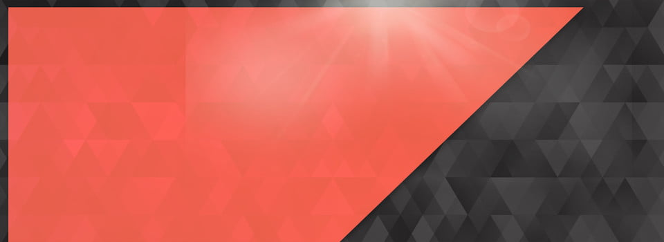 Red And Black Geometric Texture Banner Background, Red