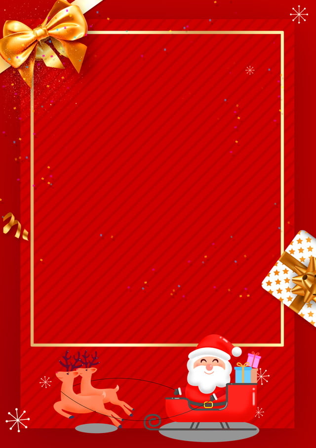 Single At Christmas.Red Christmas Dm Single Page Background Material Christmas