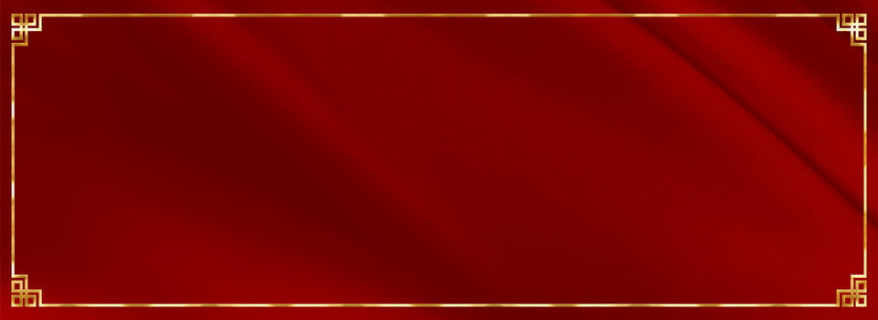 Red Festive Wedding Banner Background Red Golden Rim Box Background Image For Free Download