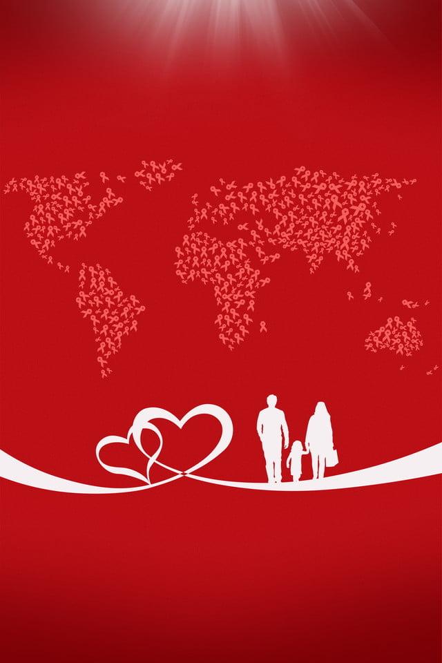 Design De Fond Pour Le Thanksgiving Rouge Amour Romantique