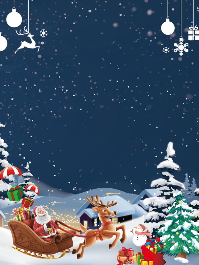 Holiday Christmas Background.Simple Blue Fashion Holiday Christmas Background Material